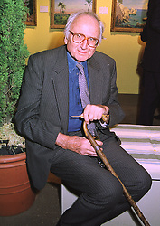 LORD RAVENSDALE son of the late Sir Oswald Moseley, at an exhibition in London on 8th January 1998.MEL 52