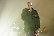 Jay-Z performing at the Global Citizen Festival 2014 in Central Park in New York City on September 27, 2014.
