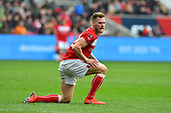 Tomas Kalas (22) of Bristol City during the The FA Cup 5th round match between Bristol City and Wolverhampton Wanderers at Ashton Gate, Bristol, England on 17 February 2019.
