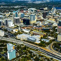 Aerial view of Orlando Florida