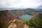 Belo Horizonte_MG, Brasil...Na foto Lago da Serra do Curral em Belo Horizonte, Minas Gerais.. .In the photo lake at the Serra do Curral in Belo Horizonte Minas Gerais...Foto: LEO DRUMOND / NITRO