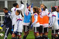 Groupe Lyon  - 03.12.2014 - Saint Etienne / Lyon - 11eme journee de Division 1<br /> Photo : Thomas Pictures / Icon Sport