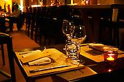 Inside the restaurant La Compagnie des Comptoires run by the brothers Pourcelle.   Avignon, Vaucluse, Provence, Alpes Cote d Azur, France, Europe