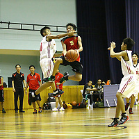 Jurong East Sports Hall, Thursday, July 26, 2012 -- Unity Secondary were crowned champions of the West Zone C Division Basketball Championship after beating arch-rivals, Jurong Secondary, 54-46.<br /> <br /> Story: http://redsports.sg/2012/07/28/west-zone-c-div-bball-unity-jurong-2/