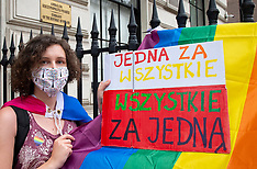 LGBT Polish Embassy 15th August 2020