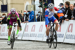 Winner Winner Marjin van den Berg (Groupama – FDJ) celebrates during cycling race 6th Grand Prix Adria Mobil 2021, on March 28, 2021, in Novo mesto, Slovenia. Photo by Vid Ponikvar / Sportida