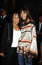 MELBA BARBUSIA and her daughter LISA BARBUSIA at Tatler Magazine's Summer Party held at the Baglioni Hotel, 60 Hyde Park Gate, London SW7 on 1st July 2004.