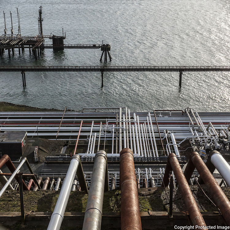 Dragon LNG Terminal, Milford Haven, Dyfed.