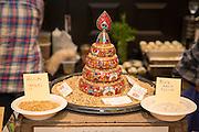 BARLEY, Hordeum vulgare Showcase: 'Karma', #STRKR, #BUCK, OSU Malt #1, Black Beaut, Meints breeding selection 3-32-OCOLOR Breeders: Pat Hayes, Oregon State University and Brigid Meints, Washington State University<br />Chef: Gabe Rosen, Biwa and Noraneko<br />Dish: Mugi-Cha<br />Chef: Dillon Debauche, Little T Baker<br />Dish: Country Loaf with 45% barley<br />Chef: Stacy Givens, The Side Yard Farm & Kitchen<br />Dish: Barley Agnolettti, Borage Greens, Farmy<br />Ricotta, Marigolds & Lovage, Barley Crunchies Chef: Andrew Ross, Oregon State University<br />Dish: Barley Malt Shortbread