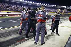 May 29, 2017 - Concord, NC, United States of America - May 29, 2017 - Concord, NC, USA: The crew of Austin Dillon (3) celebrates after taking the checkered flag and winning the Coca Cola 600 at Charlotte Motor Speedway in Concord, NC. (Credit Image: © Justin R. Noe Asp Inc/ASP via ZUMA Wire)