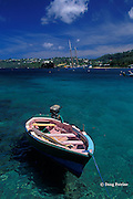channel between Young Island and Saint Vincent,  St. Vincent & the Grenadines, West Indies ( Eastern Caribbean Sea )
