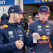 NLD/Zandvoort/20190518 - Jumbo Racedagen 2019, Pierre Gasly en Max Verstappen