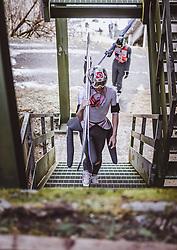 12.01.2019, Stadio del Salto, Predazzo, ITA, FIS Weltcup Skisprung, Val di Fiemme, Herren, 1. Wertungsdurchgang, im Bild Robert Johansson (NOR) // Robert Johansson of Norway before his 1st Competition Jump for the Four Hills Tournament of FIS Ski Jumping World Cup at the Stadio del Salto in Predazzo, Italy on 2019/01/12. EXPA Pictures © 2019, PhotoCredit: EXPA/ JFK