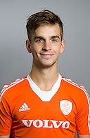 NAALDWIJK - Hockey - Tristan Algera van Jong Oranje Heren, dat in december het WK in India zal spelen. COPYRIGHT KNHB/KOEN SUYK