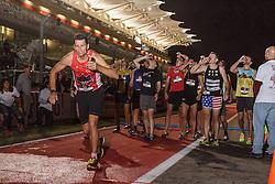 Beer Mile World Championships, Inaugural, sub-elite runners chug