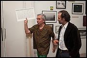 ROBIN KLASSNIK; MIKE NELSON, Matt's Gallery 35th birthday fundraising supper.  42-44 Copperfield Road, London E3 4RR. 12 June 2014.
