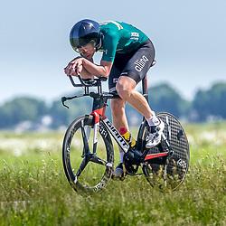 EMMEN (NED) June 16: <br />CYCLING <br />Dutch Nationals Time Trail men U23<br />Leon Ellerman