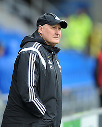 Cardiff City Manager Russell Slade - Mandatory by-line: Paul Knight/JMP - Mobile: 07966 386802 - 20/02/2016 -  FOOTBALL - Cardiff City Stadium - Cardiff, Wales -  Cardiff City v Brighton and Hove Albion - Sky Bet Championship