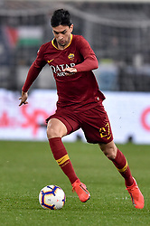 March 2, 2019 - Rome, Rome, Italy - Javier Pastore of AS Roma during the Serie A match between Lazio and Roma at Stadio Olimpico, Rome, Italy on 2 March 2019. (Credit Image: © Giuseppe Maffia/NurPhoto via ZUMA Press)