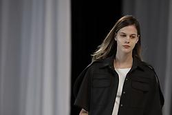 April 26, 2018 - Sao Paulo, Sao Paulo, Brazil - Apr, 2018 - GLORIA COELHO fashion show during the N45 edition of Sao Paulo Fashion Week, on Tuesday (26), in the FAAP. (Credit Image: © Marcelo Chello via ZUMA Wire)