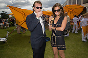 GABRIELLE ROSS; BILLY PRESTON, 2008 Veuve Clicquot Gold Cup Polo final at Cowdray Park. Midhurst. 20 July 2008 *** Local Caption *** -DO NOT ARCHIVE-© Copyright Photograph by Dafydd Jones. 248 Clapham Rd. London SW9 0PZ. Tel 0207 820 0771. www.dafjones.com.
