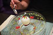 Deserts at Joel Robuchon's restaurant, MGM Grand hotel casino and resort, Las Vegas, Nevada, USA