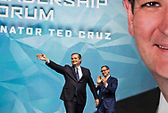 US Senator . Ted Cruz (R-TX) speaks at the NRA-ILA Leadership Forum during the NRA Annual Meeting & Exhibits on <br /> May 4, 2018 in Dallas, Texas at the Kay Bailey Hutchison Convention Center.