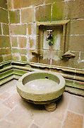 Water faucet, Mont Saint-Michel monastery, Normandy, France
