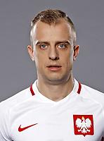 Uefa - World Cup Fifa Russia 2018 Qualifier / <br /> Poland National Team - Preview Set - <br /> Kamil Grosicki