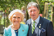 Mary Berry and Alan Titchmarsh - The opening day of th Chelsea Flower Show.