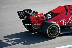 February 18, 2019 - Barcelona, Spain - the Ferrari of Sebastian Vettel during the Formula 1 test in Barcelona, on 18th February 2019, in Barcelona, Spain. (Credit Image: © Joan Valls/NurPhoto via ZUMA Press)