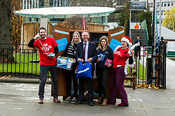 Pictured: Alasdair Allan<br /> <br /> Alasdair Allan MSP  unveiled the #BeLikeStAndrew campaign, which encourages people to celebrate Scotland's shared values and perform an act of kindness.<br /> <br /> Ger Harley | EEm Date