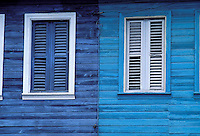 Le Carbet - Traditional wooden house - Martinique (French département d'outre Mer - DOM) - France<br /> French West Indie - Antilles françaises<br /> Caribbean