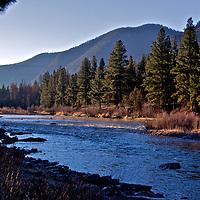 Big Blackfoot River<br /> 47.023373 N<br /> 113.309837 W