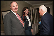 WILLIAM CASH; Lady Laura Cathcart ; SIR BENJAMIN SLADE, The hon Alexandra Foley hosts drinks to introduce ' Lady Foley Grand Tour' with special guest Julian Fellowes. the Sloane Club. Lower Sloane st. London. 14 May 2014