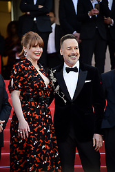 May 16, 2019 - 72nd Cannes Film Festival 2019, Red Carpet Rocketman. Pictured : Bryce Dallas Howard, David Furnish (Credit Image: © Simone Comi/IPA via ZUMA Press)