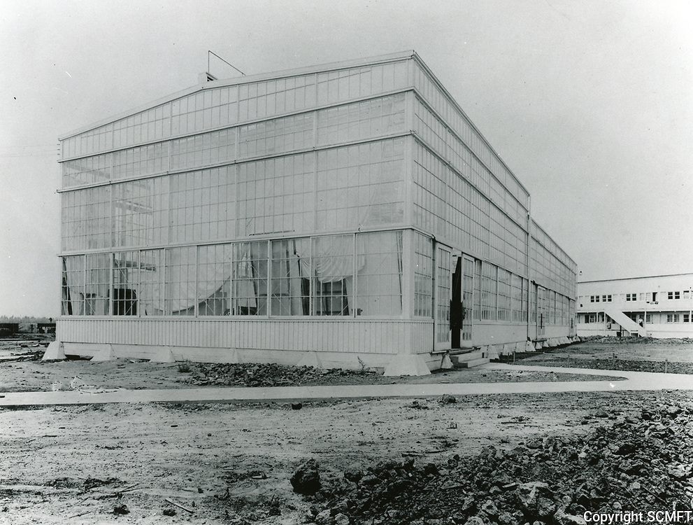 1916 Thomas Ince Studios in Culver City, later MGM Studios