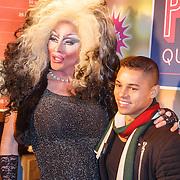 NLD/Amsterdam20151111 - Premiere Priscilla, Queen of the Desert, travestiet en Jeffrey Wammes