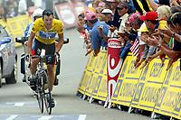 Sykkel<br /> Tour de France 2003<br /> Foto: DPPI/Digitalsport<br /> <br /> NORWAY ONLY<br /> <br /> CYCLING - TOUR DE FRANCE 2003 - STEP15 - BAGNERES-DE-BIGORRE > LUZ-ARDIDEN - 21072003 - PHOTO: JULIEN CROSNIER / DPPI<br /> LANCE ARMSTRONG (USA) / US POSTAL SERVICE