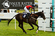 One Liner ridden by Jane Elliott and trained by John O'Shea in the F45 Bath Training Guaranteed Results Handicap race.  - Ryan Hiscott/JMP - 06/05/2019 - PR - Bath Racecourse- Bath, England - Kids Takeover Day - Monday 6th April 2019
