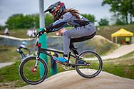 2021 UCI BMXSX World Cup 1&2<br /> Verona (Italy) - Friday Practice<br /> ^we#121 VERHAGEN, Ashley (USA, WE) Radio