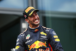 July 9, 2017 - Spielberg, Austria - Motorsports: FIA Formula One World Championship 2017, Grand Prix of Austria, ..#3 Daniel Ricciardo (AUS, Red Bull Racing) (Credit Image: © Hoch Zwei via ZUMA Wire)