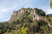 Mountain peak Prutz, Tyrol, Austria