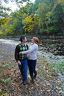 10/14/12 9:27:13 AM - Newtown, PA.. -- Amanda & Elliot October 14, 2012 in Newtown, Pennsylvania. -- (Photo by William Thomas Cain/Cain Images)