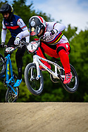 #1 (ANDRE Sylvain) FRA at Round 4 of the 2019 UCI BMX Supercross World Cup in Papendal, The Netherlands