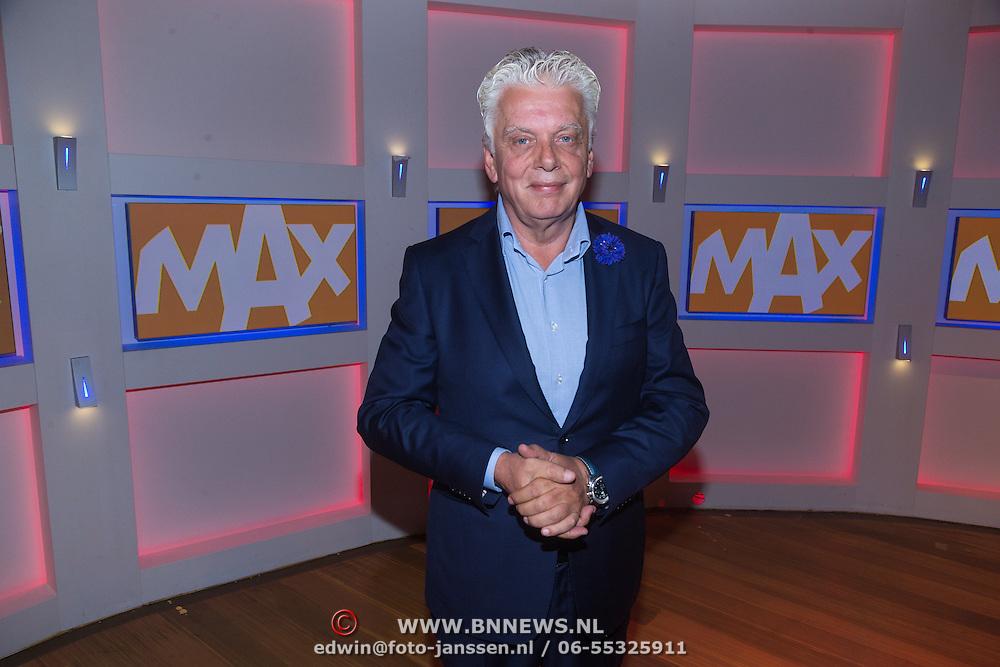 NLD/Hilversum/20130826 - najaarspresentatie 2013 omroep Max, voorzitter Jan Slagter