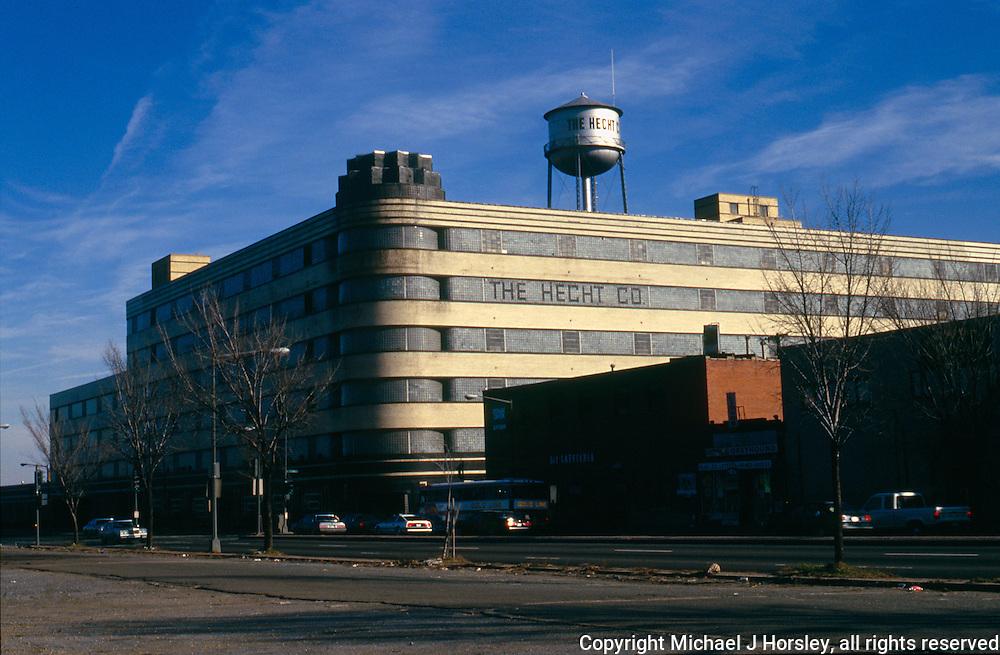 New York Avenue and Fenwick St NE Washington DC, 1988
