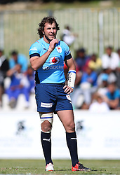 Burger Odendaal of the Blue Bulls during the Currie Cup premier division match between the Boland Cavaliers and The Blue Bulls held at Boland Stadium, Wellington, South Africa on the 23rd September 2016<br /> <br /> Photo by:   Shaun Roy/ Real Time Images