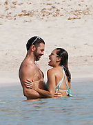 IBIZA, SPAIN, 2016, JULY 21 <br /><br />Eva Longoria continues in Ibiza enjoying the sun, its beaches, its food and above all, their parties. During his first visit to the Balearic island on the occasion of the celebration of the first Ibiza Global Gift Party held days ago, the famous actress has enjoyed a fun day at the beach with her husband who gave free rein to his passion while they gave a refreshing swim. Married since last May, the famous actress and television producer living in permanent honeymoon. It promised to be the link of the year in Hollywood and there is no doubt that he met. The couple married in Mexico, in the garden of the house where the employer has in Braco Valley, surrounded by 80 family and friends as Ricky Martin, Melanie Griffith and David and Victoria Beckham, commissioned to design her wedding dress.<br />©Exclusivepix Media