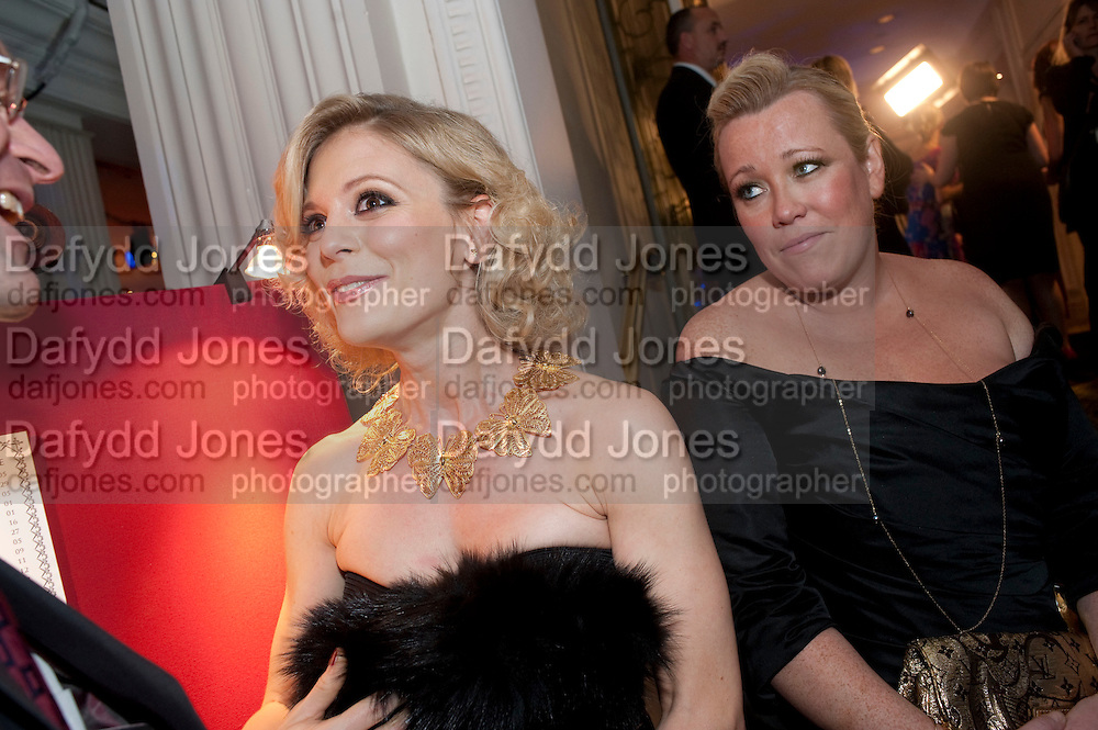 EMILIA FOX; KATE HALFPENNY, Specsavers Crime Thriller Awards.  Award ceremony celebrating the best in crime fiction and television. <br /> Grosvenor House Hotel, Park Lane, London. 21 October 2009